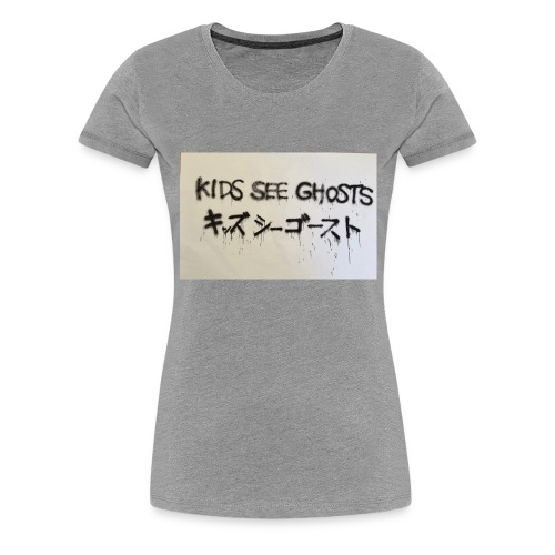 Kids see ghosts design - Women's Premium T-Shirt
