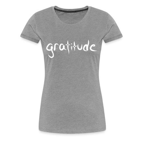 gratitude - Women's Premium T-Shirt