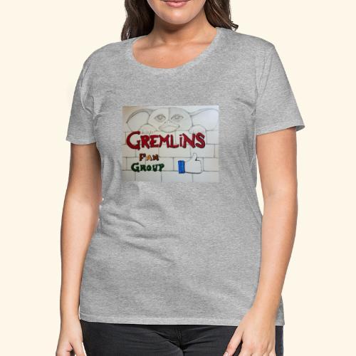 Gremlins Fan Group Logo - Women's Premium T-Shirt