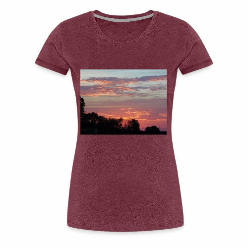 Sunset of Pastels - Women's Premium T-Shirt