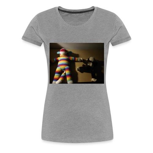 Monkey love - Women's Premium T-Shirt