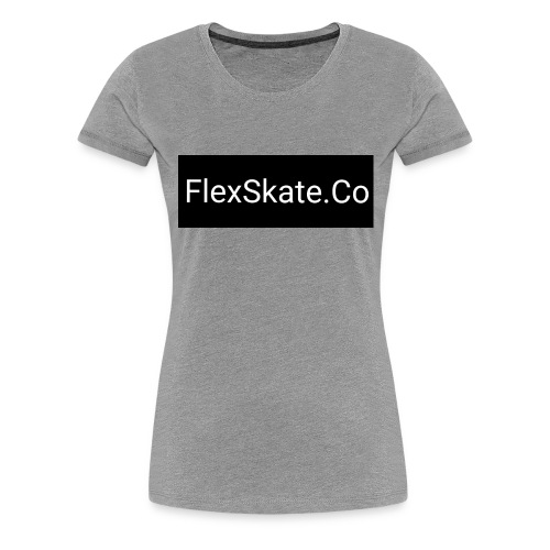 FlexSkate.Co Logo #2 - Women's Premium T-Shirt