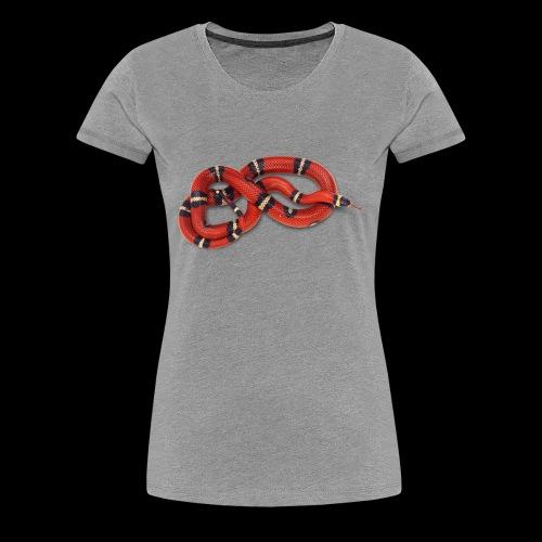 Red Snake - Women's Premium T-Shirt