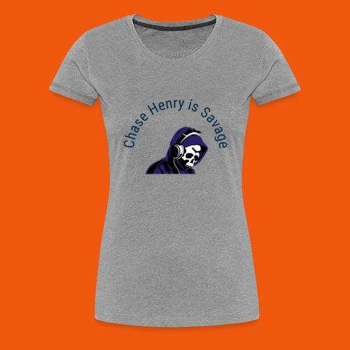 Chase Henry is Savage - Women's Premium T-Shirt