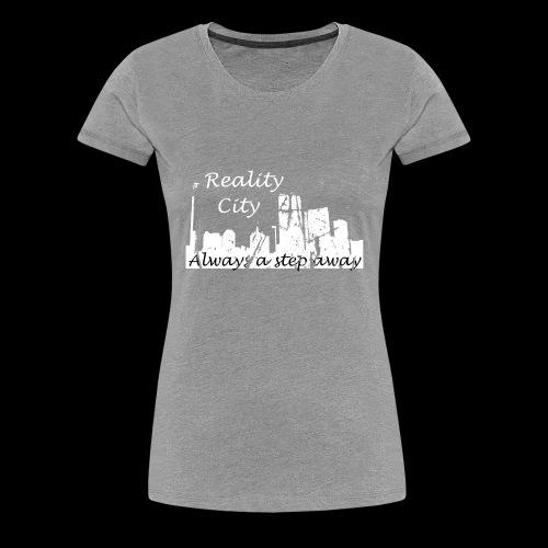 Reality City - Dark - Women's Premium T-Shirt