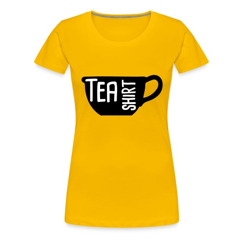 Tea Shirt Black Magic - Women's Premium T-Shirt
