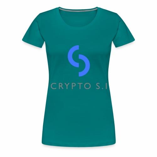 CRYPTO SI - Women's Premium T-Shirt