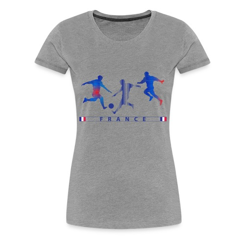 FRANCE - FRA 3 Players - Women's Premium T-Shirt