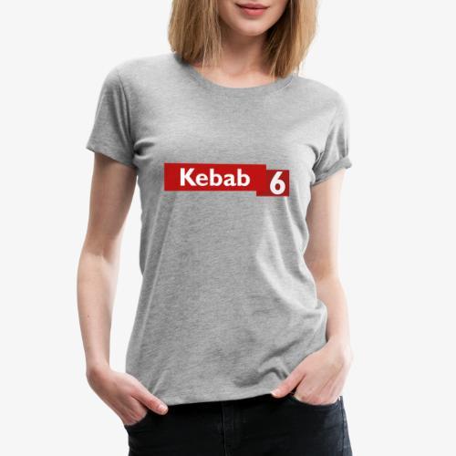 Kebab red logo - Women's Premium T-Shirt