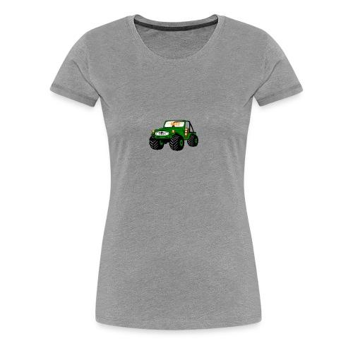 Happy Toy Jeep Green - Women's Premium T-Shirt