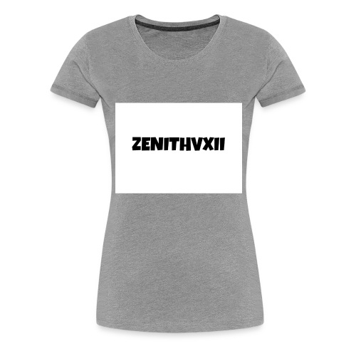 Premium ZENITHVXII LOGO DESIGN - Women's Premium T-Shirt