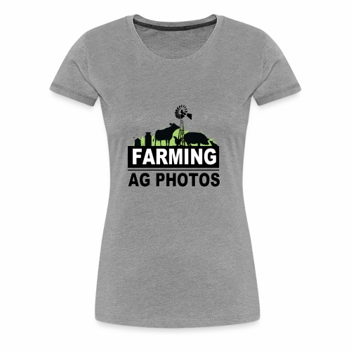 Farming Ag Photos - Women's Premium T-Shirt
