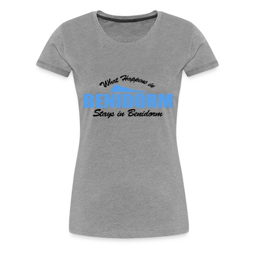 What happens in Benidorm - Women's Premium T-Shirt