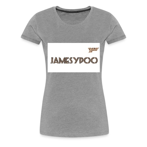Jamesypoo logo - Women's Premium T-Shirt