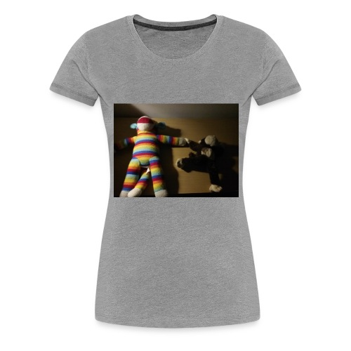 Monkey love - Women's Premium T-Shirt