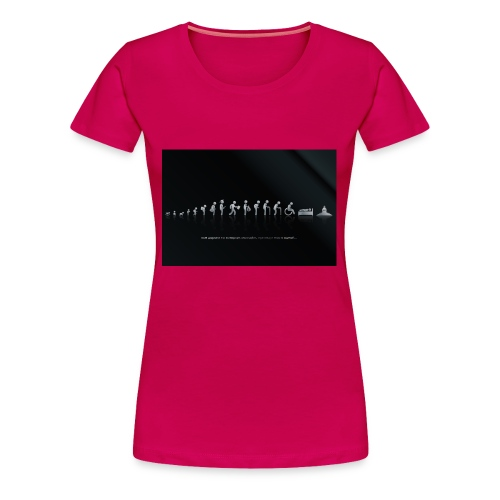 DIFFERENT STAGES OF HUMAN - Women's Premium T-Shirt