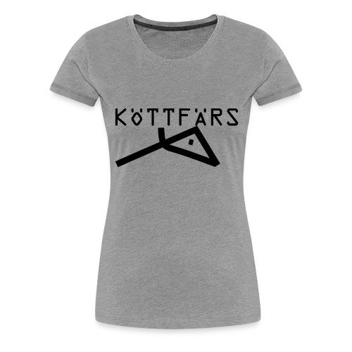 Köttfärs Black - Women's Premium T-Shirt