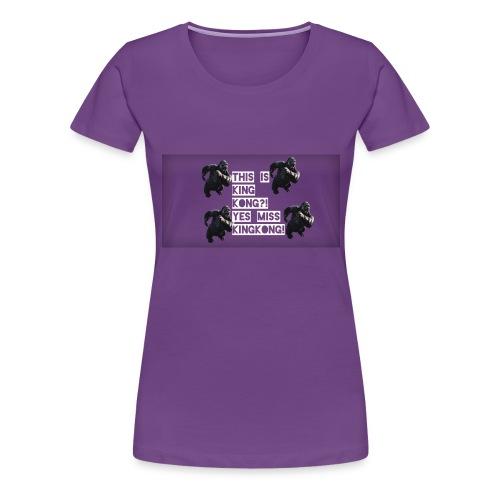 KINGKONG! - Women's Premium T-Shirt