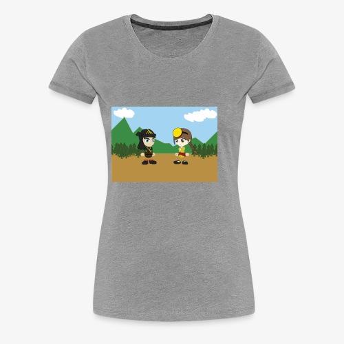 Digital Pontians - Women's Premium T-Shirt