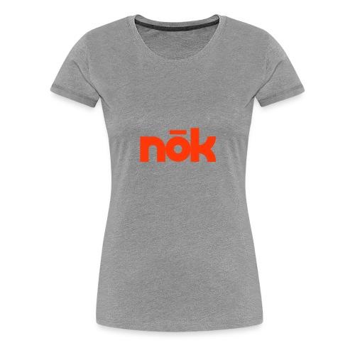 nōk Red - Women's Premium T-Shirt