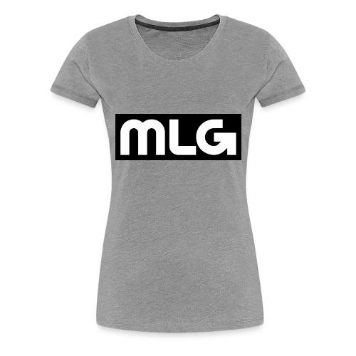 MLG_GOD sweater - Women's Premium T-Shirt