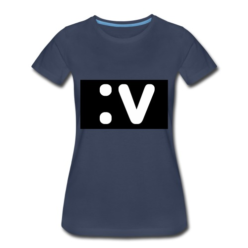 LBV side face Merch - Women's Premium T-Shirt
