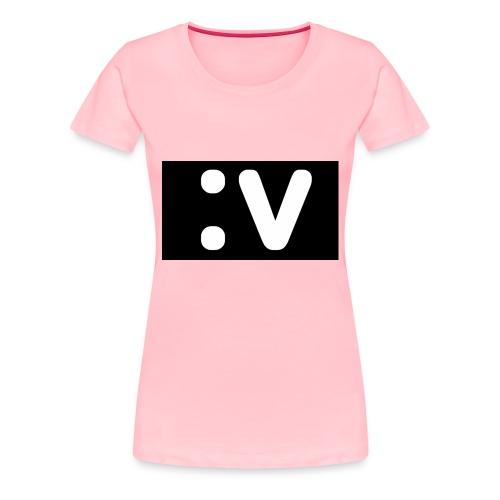 LBV side face Merch - Women's Premium T-Shirt