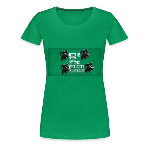 KINGKONG! - Women's Premium T-Shirt
