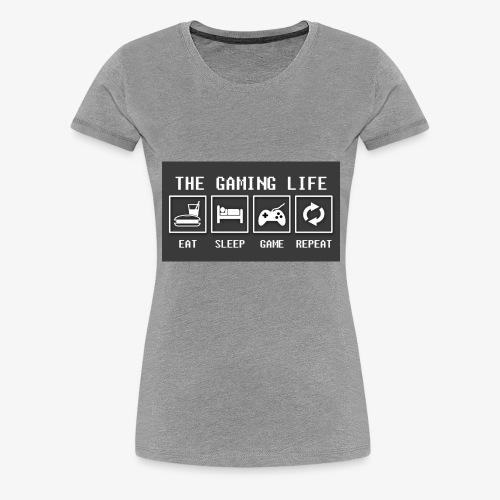 Gaming is life - Women's Premium T-Shirt