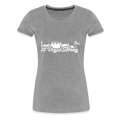 VegasStrong2wht - Women's Premium T-Shirt