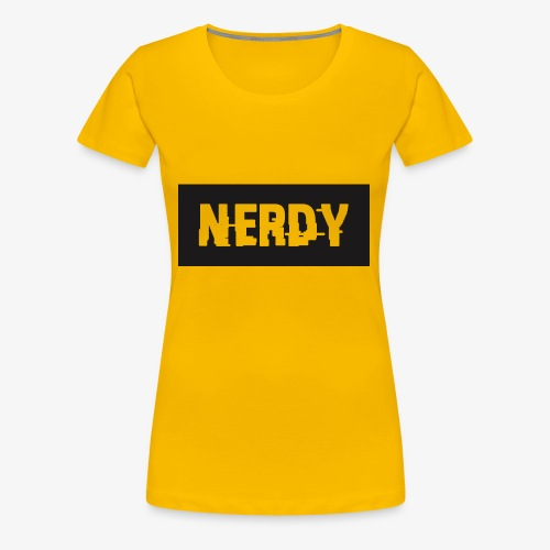 NerdyMerch - Women's Premium T-Shirt