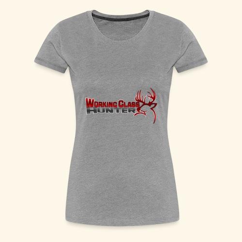 Working Class Hunter - Women's Premium T-Shirt