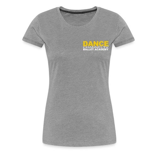 Dance Channel TV Logo - Women's Premium T-Shirt