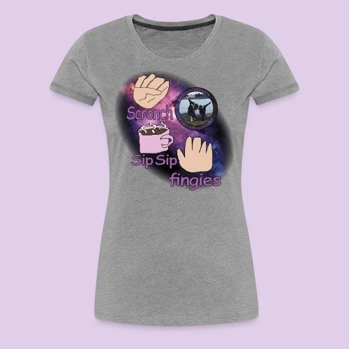 three meme doublesneeze - Women's Premium T-Shirt