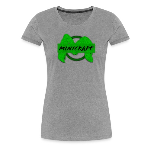 Minicraft - Women's Premium T-Shirt