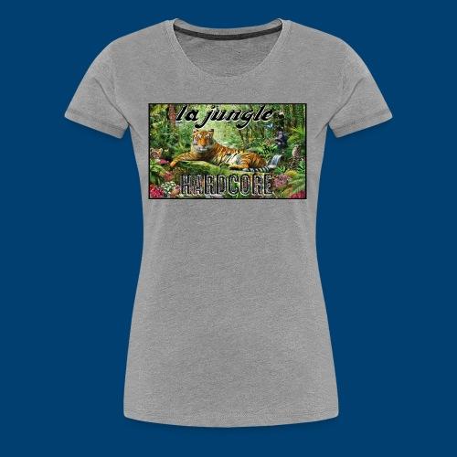 lajunglehardcore - Women's Premium T-Shirt