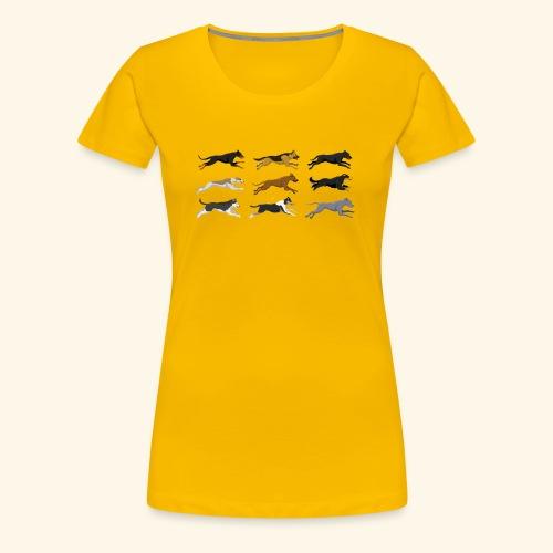 The Starting Nine - Women's Premium T-Shirt