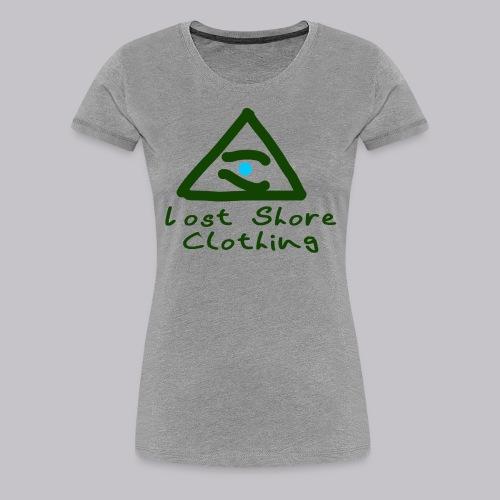 ░▒▓█ 𝐓𝐡𝐞 𝐒𝐞𝐞𝐢𝐧𝐠 𝐄𝐘𝐄 █▓▒░ - Women's Premium T-Shirt