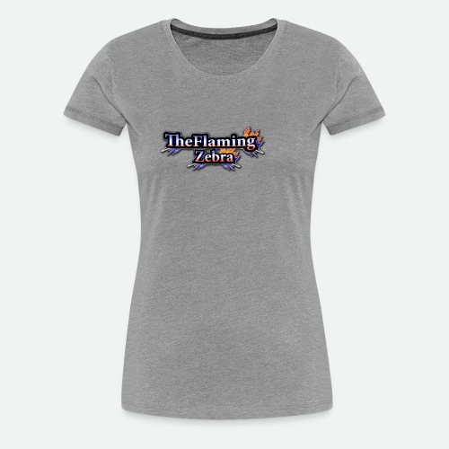 BIG TheFlamingZebra Logo - Women's Premium T-Shirt