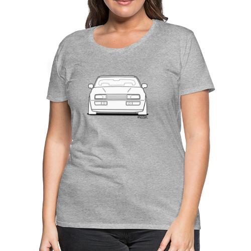 Wolfsburg Rado Outline - Women's Premium T-Shirt