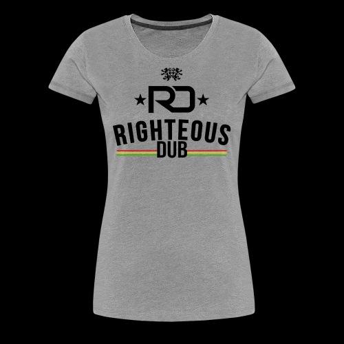 Righteous Dub Logo - Women's Premium T-Shirt