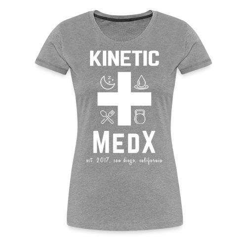Kinetic MedX - Women's Premium T-Shirt