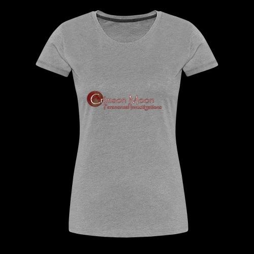 Crimson Moon PI - Women's Premium T-Shirt