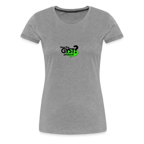 HYGYST LOGO - Women's Premium T-Shirt