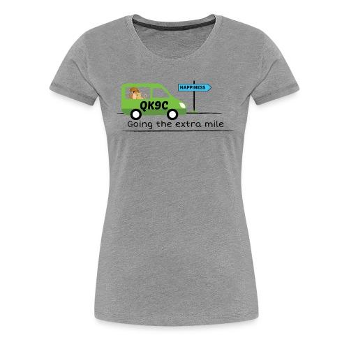 Going the extra mile - Women's Premium T-Shirt