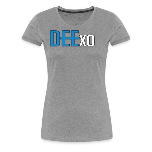 Blue & White Dee Merch - Women's Premium T-Shirt