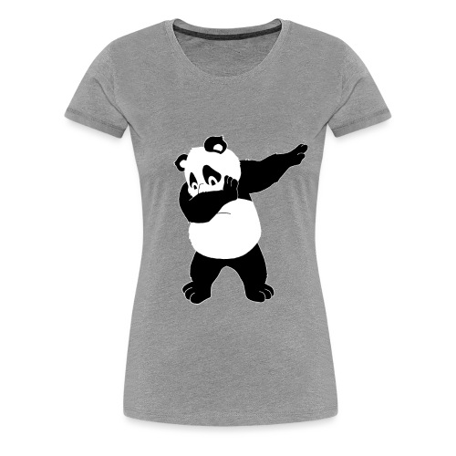 Dabbing Bear - Women's Premium T-Shirt