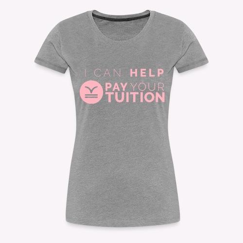 Light Pink PYT Logo - Women's Premium T-Shirt