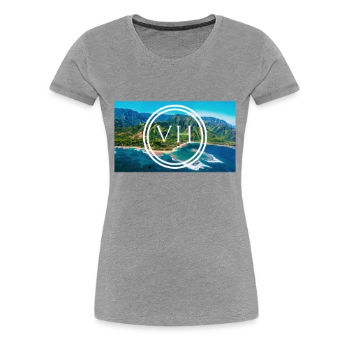 Voyage Hawaii - Women's Premium T-Shirt