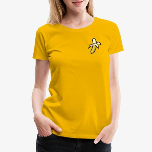 Banana Logo - Women's Premium T-Shirt